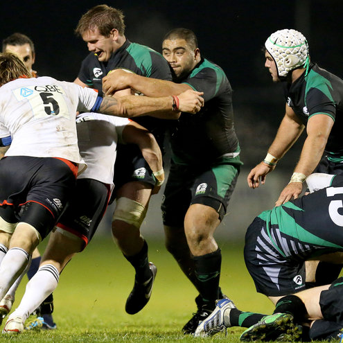 Connacht Eagles 3 Newcastle Falcons 34, Dubarry Park, Buccaneers RFC, Friday, October 19, 2012