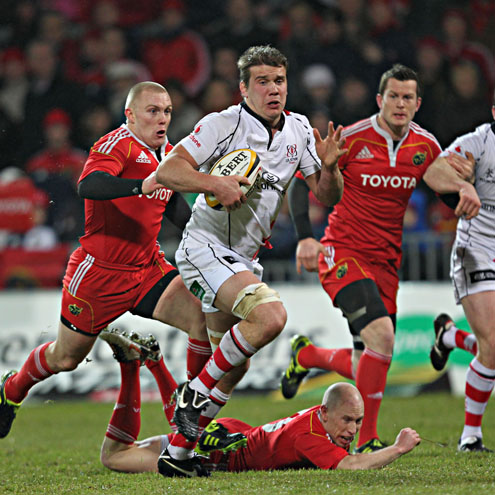 Thomas Anderson in action for Ulster