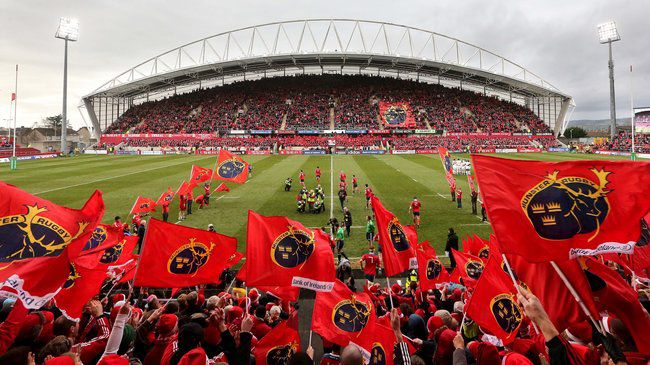 The Thomond Park crowd