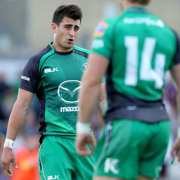 Tiernan O'Halloran will feature for Connacht Eagles