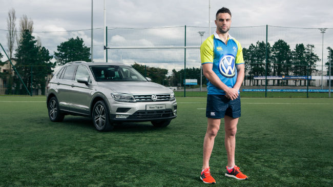 Win a Vokswagen Tiguan for a year - Conor Murray not included