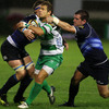 Scrum half Tobie Botes had an impressive outing for Benetton Treviso, kicking 13 points