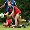 New Zealander Toby Morland, signed as cover at scrum half, has been settling in with the Munster squad