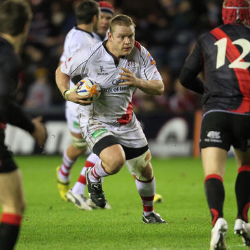 Tom Court in action for Ulster