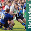Ulster went close to scoring a second try when prop Tom Court was stopped close to the posts
