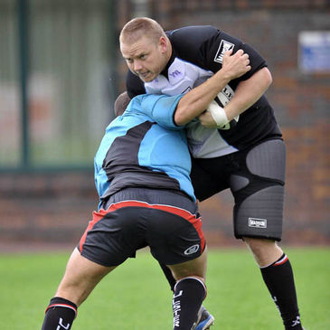 Tom Court training with Ulster