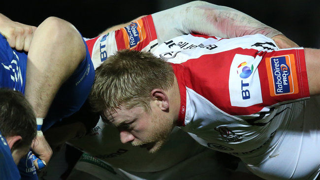 Ulster prop Tom Court