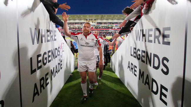 Ulster's Tom Court at Ravenhill