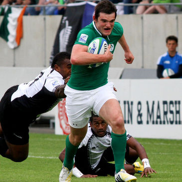 Tom Daly in action against the Fiji Under-20s
