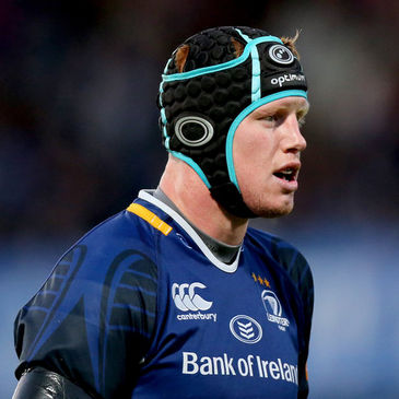 Leinster second row Tom Denton
