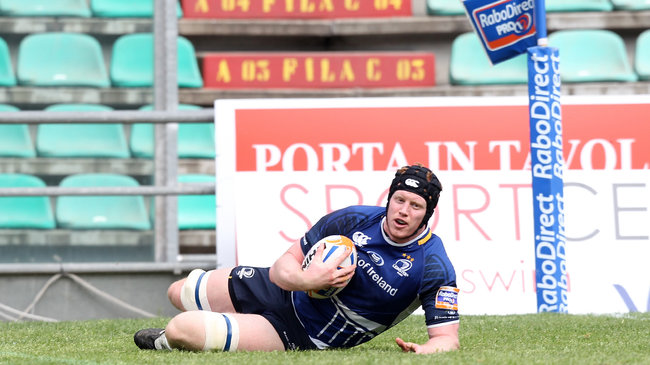 Tom Denton touched down against Zebre last season