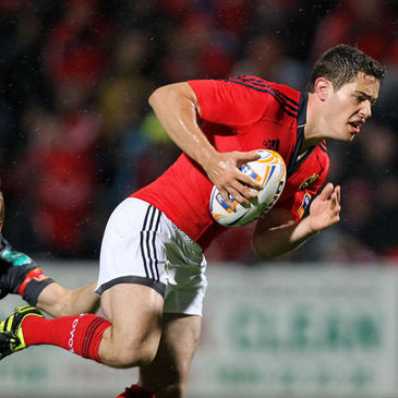 Tom Gleeson in action for Munster last month