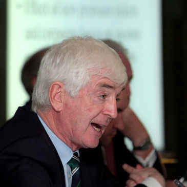 IRFU Hon. Treasurer Tom Grace