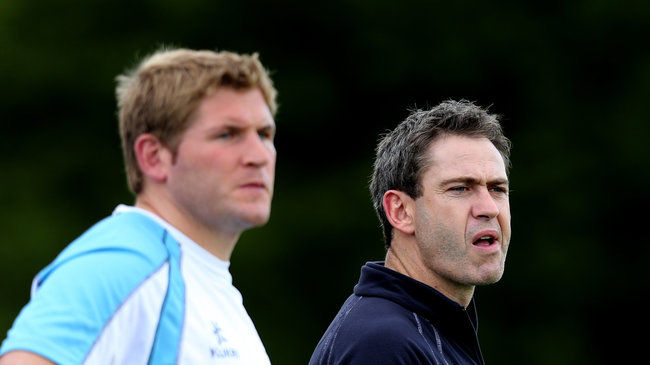 Garryowen coaches Paul Neville and Tom Tierney