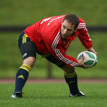 Munster scrum half Tomas O'Leary