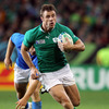 A key moment for Ireland came in the 48th minute when Tommy Bowe thundered through midfield and set up the opening try for Brian O'Driscoll
