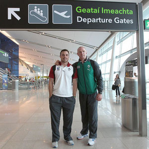 Ireland Squad And Management Depart For Rugby World Cup, Dublin Airport, Tuesday, August 30, 2011