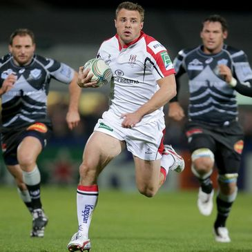 Tommy Bowe has made four starts on the wing so far this season