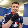 The Monaghan man is wearing a glove made by Cork company Mycro Sportsgear, whose gloves are regularly used by top hurling and hockey players