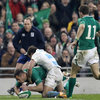 Ireland added a seventh and final try in the closing stages as Tommy Bowe benefited from two deft kicks from Keith Earls and Simon Zebo