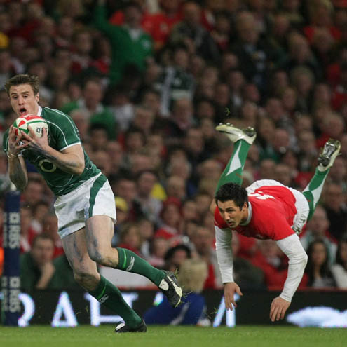 Photos of Ireland's Grand Slam-clinching win over Wales in Cardiff