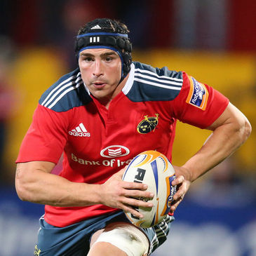 Munster back rower Tommy O'Donnell