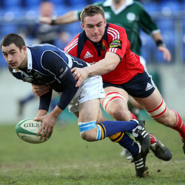 Tommy O'Donnell was a try scorer for Munster 'A'