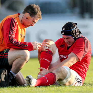 Tommy O'Donnell picked up the injury against Leinster 'A'