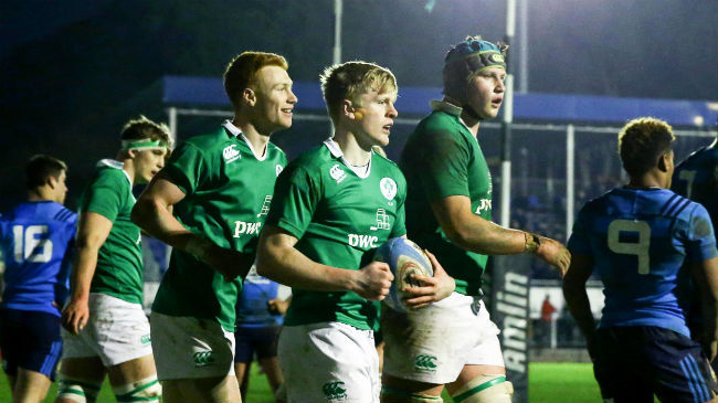 Festive Fixtures And Training For Ireland Age-Grade Squads