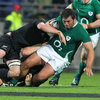 Giant prop Tony Buckley had arguably his best game for Ireland as he put himself about the pitch