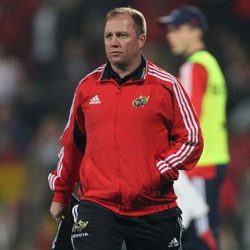 Munster coach Tony McGahan