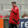 Munster coach Tony McGahan directs operations as the province gear up for Saturday's derby meeting with Connacht