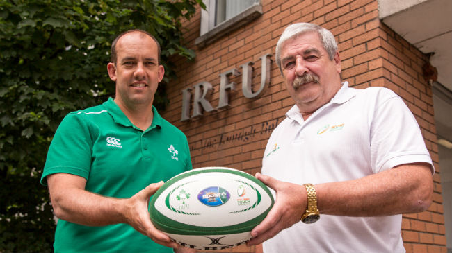 IRFU Announce Partnership With Irish Touch Association