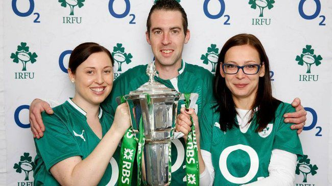 The RBS 6 Nations trophy is coming to Aviva Stadium