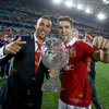 Simon Zebo and Conor Murray, two of the Munster players involved in the tour, were in celebratory mood after the game