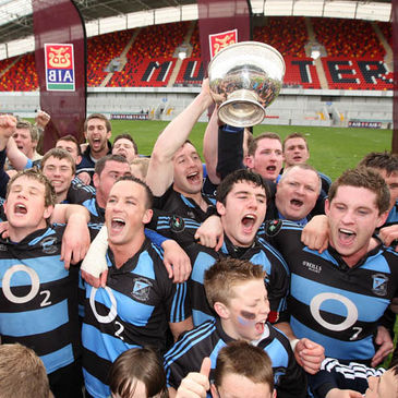 Shannon were crowned Division 1 champions last year