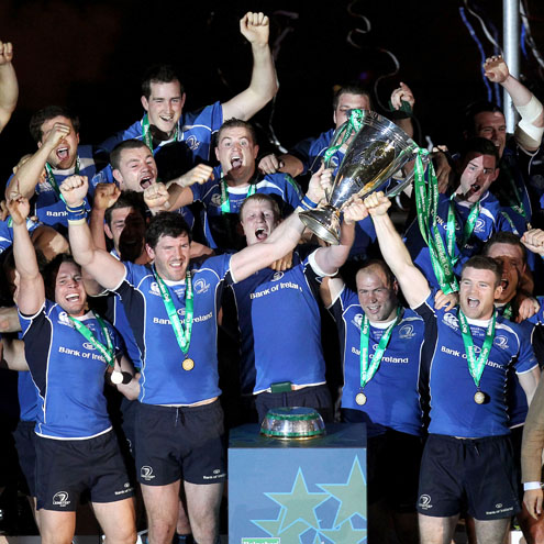 Leinster Heineken Cup Final Celebrations, Millennium Stadium, Saturday, May 21, 2011