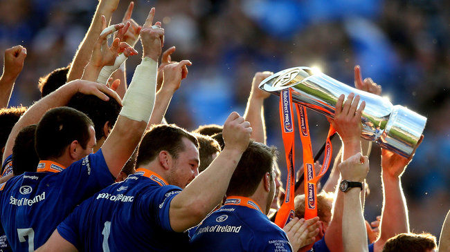Leinster are the reigning PRO12 champions
