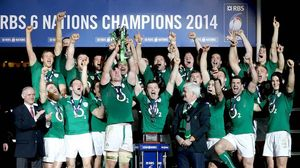 Ireland Post-Match Celebrations At Stade De France, Paris, Saturday, March 15, 2014