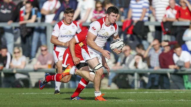 Timoney On The Bench For Ulster's Clash With Cardiff