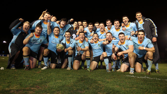 UCD win the 2013 Colours Match