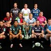 Former Ireland full-back Geordan Murphy and ex-Shannon lock Tom Hayes were among the captains present at the UK launch of the Heineken Cup