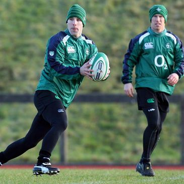 Tomas O'Leary and Peter Stringer