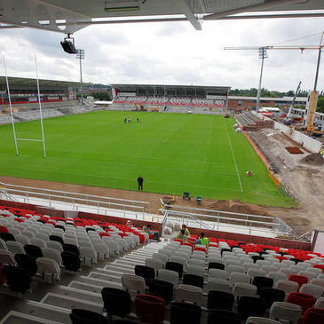 A view of the new-look Ravenhill