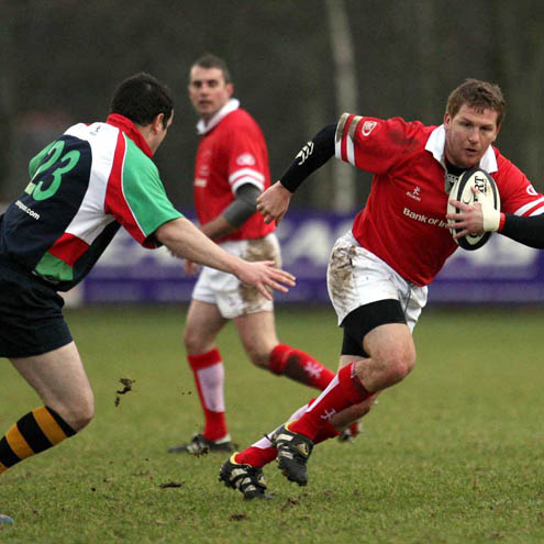 Ulster 10th Anniversary Match, Shaw's Bridge, Belfast, Thursday, January 29, 2009