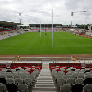 Redevelopment Work Continues At Ravenhill Stadium, Belfast, Tuesday, August 20, 2013