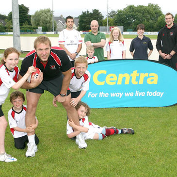 Stephen Ferris promotes the Ulster Summer Camps