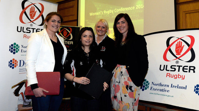 Fiona Coghlan and Nora Stapleton attended the Ulster conference