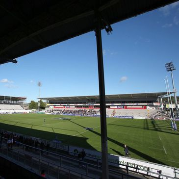 Ulster's home ground in Belfast