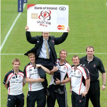 Ulster Rugby Credit Card Launch
